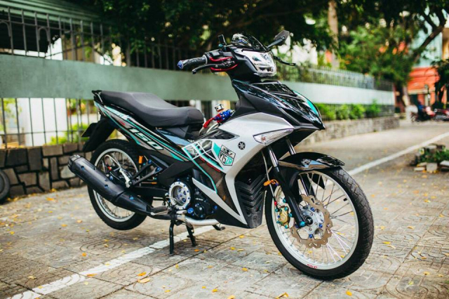 Exciter 150 do voi dan do choi DINH KHONG CAN CHINH - 10