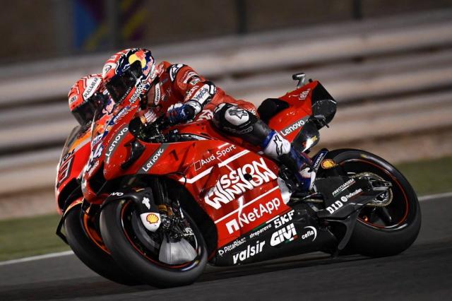 MotoGP 2019 GP QATAR Ducati bi to thiet ke winglet lop sau khong hop le