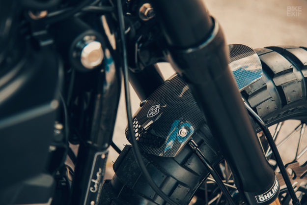 Harley Davidson XR1200X do phong cach Flat Track Racing den tu Cohn Racers - 4