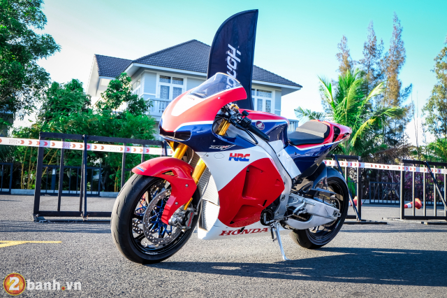 Can canh RC213VS phien ban nang cap va cam nhan sau khi chay thu tai Honda Biker Day 2019