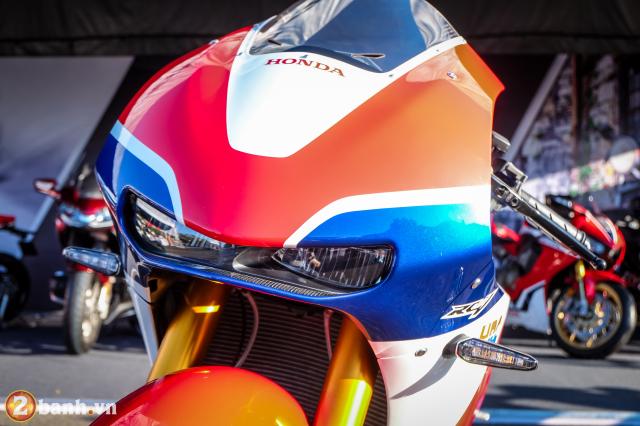 Can canh RC213VS phien ban nang cap va cam nhan sau khi chay thu tai Honda Biker Day 2019 - 3