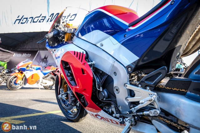 Can canh RC213VS phien ban nang cap va cam nhan sau khi chay thu tai Honda Biker Day 2019 - 12