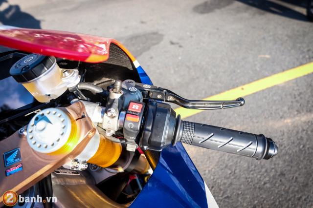Can canh RC213VS phien ban nang cap va cam nhan sau khi chay thu tai Honda Biker Day 2019 - 15