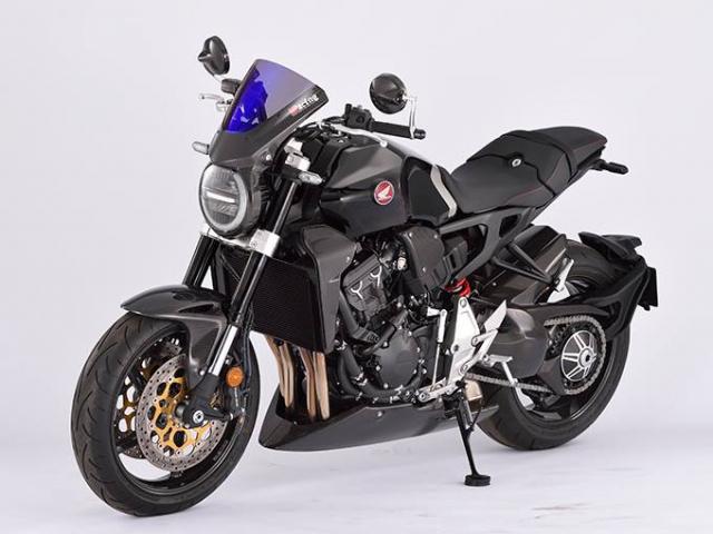 Honda CB1000R do day mau lua voi trang bi full option Carbon