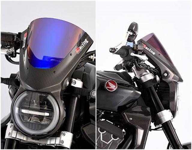 Honda CB1000R do day mau lua voi trang bi full option Carbon - 3