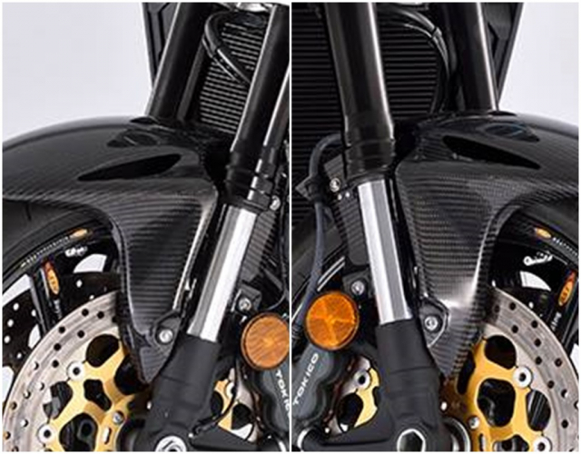 Honda CB1000R do day mau lua voi trang bi full option Carbon - 5