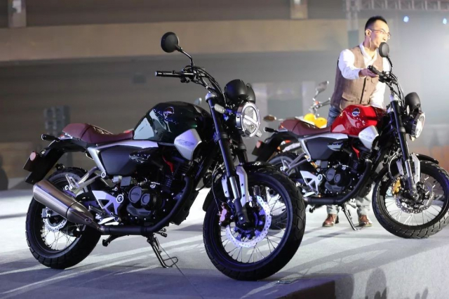 Honda CB190SS vua ra mat canh tranh truc tiep voi Kawasaki W175