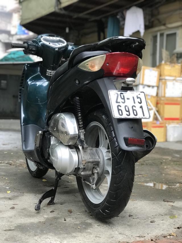 Honda SH mau xanh nhap Y nguyen zin 125 bien HN - 4