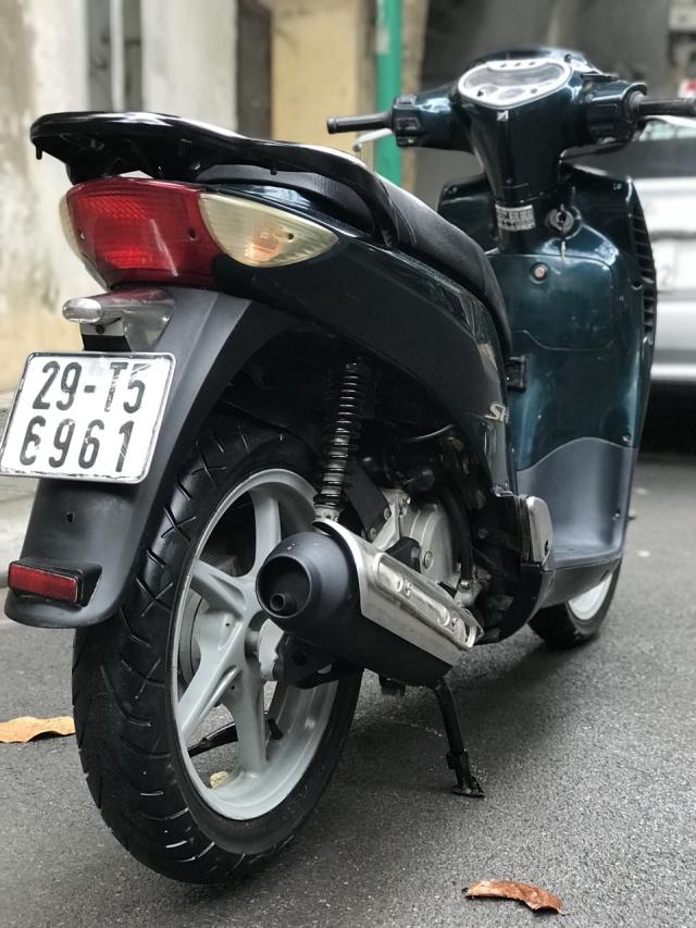 Honda SH mau xanh nhap Y nguyen zin 125 bien HN - 5
