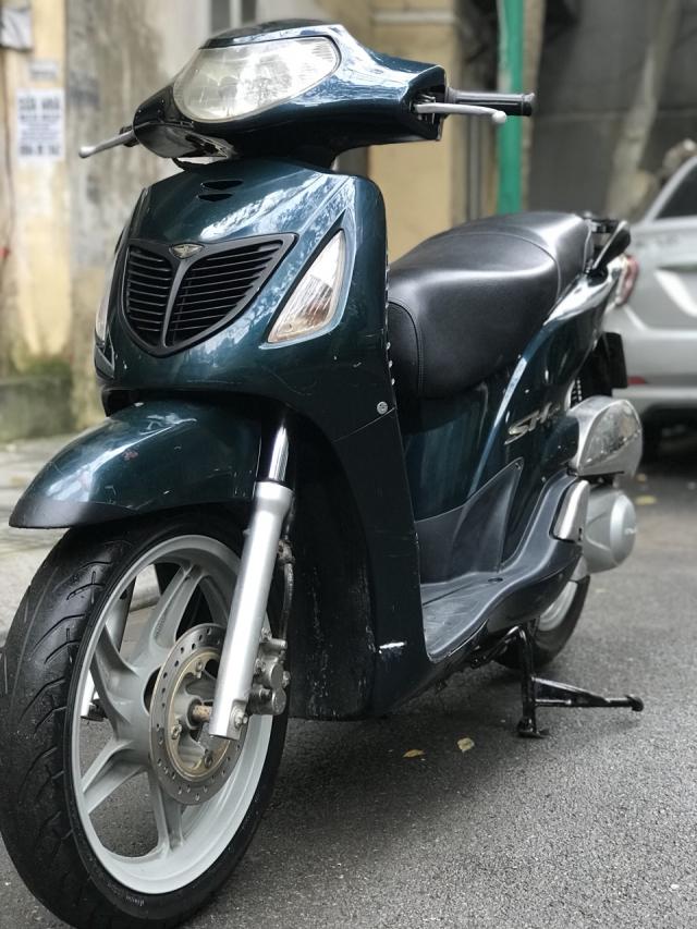 Honda SH mau xanh nhap Y nguyen zin 125 bien HN - 6