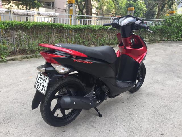 Honda Vision 110cc Fi do den san bien Ha noi - 5
