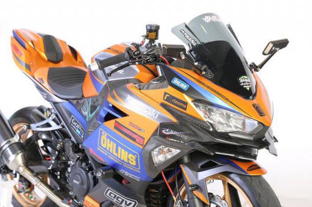 Kawasaki Ninja 250 hoan thien tuyet doi voi ngoai hinh cuc chat