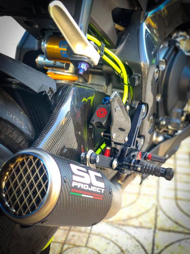 Man nhan voi sieu pham Yamaha R1 mien tay song nuoc don phong cach chay Track - 22