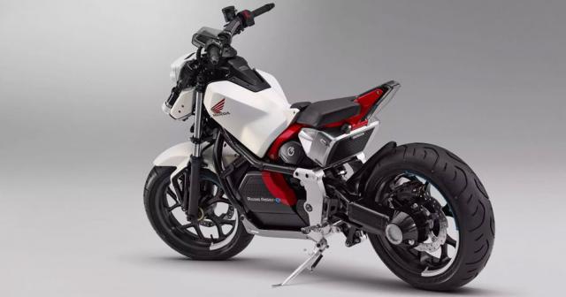 Honda Riding Assist mau mo to dien tu can bang sap duoc dua len day chuyen san xuat - 6