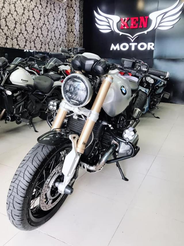 Can ban BMW RNineT binh xang bac 2016HQCnsang ten tuy thich - 3