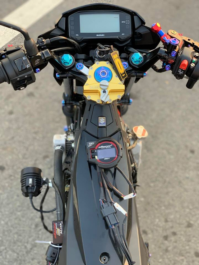 Satria 150 ban do chat luong voi dan combo Galespeed huy diet - 4