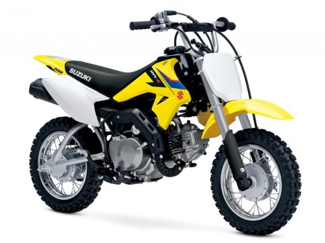 Suzuki DRZ50 ra mat tai An Do voi gia tu 83 trieu VND danh cho cac tay dua nhi