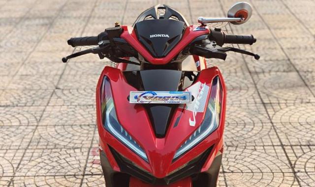 Vario 150 do dan chan muot nhu Ngoc Trinh cua biker An Giang