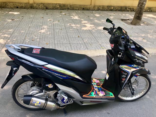 Vario 2018 150cc cua mot Anh chu Banh Trang tai Tay Ninh So huu dan do choi dam chat Indonesia