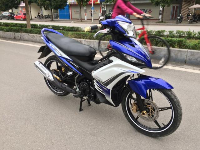 Yamaha Exciter 135cc xanh GP con tay bien HN 2k13 - 4