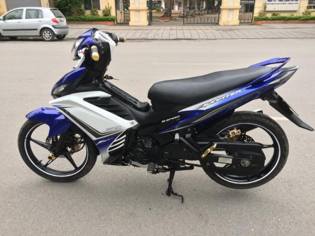 Yamaha Exciter 135cc xanh GP con tay bien HN 2k13 - 6