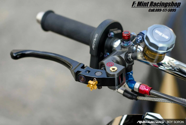 Yamaha Fino do option do choi cao cap khien nguoi xem chet lang - 4