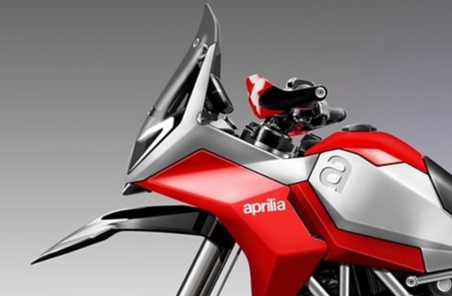 Aprilia Tuareg 900 Concept lo dien thiet ke Maxi Enduro dep khong tuong