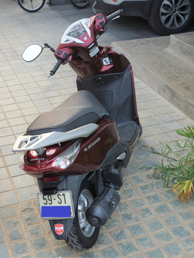 Ban Honda Lead 125 2014 bien so HCM