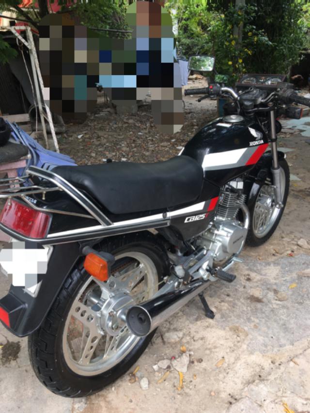 ban xe moto Honda CB125t gia re - 4