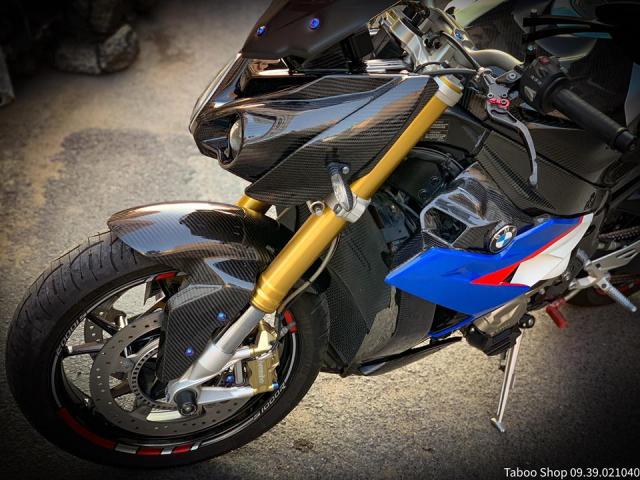 BMW S1000R do full ao Carbon dep me hon cua biker Viet - 5