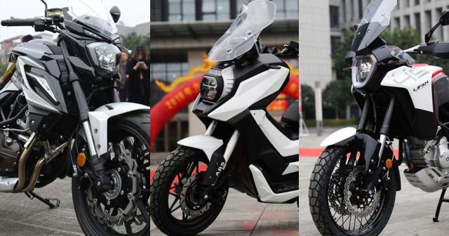 Bo 3 xe mo to phan khoi lon Lifan chuan bi do bo thi truong Thai Lan