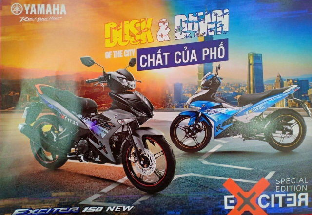 Can canh Exciter 150 2019 phien ban dac biet vua duoc ra mat