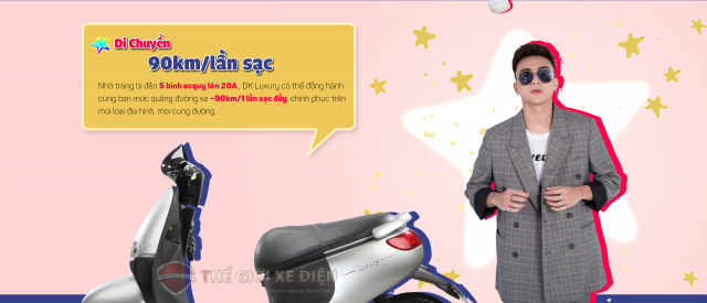 Chiec xe DKBike Luxury chat luong uy tin - 2