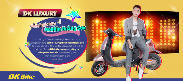 Chiec xe DKBike Luxury chat luong uy tin