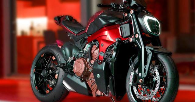 Ducati StreetFighter V4 moi duoc he lo thoi diem ra mat