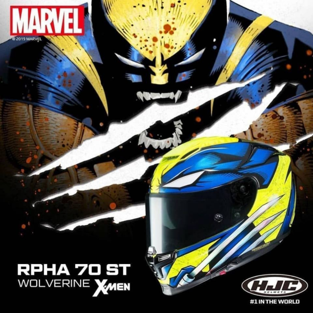 HJC RPHA 70 ST Mau fullface the he moi lay cam hung tu nguoi soi Wolverine
