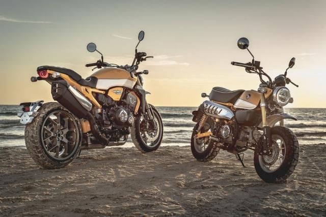 Honda CB1000R do hap dan theo style MonkeyKong tu dan em Monkey 125