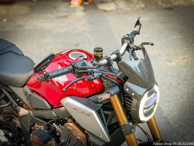 Honda CB650R do nhe theo phong cach chay pho cua Biker Viet