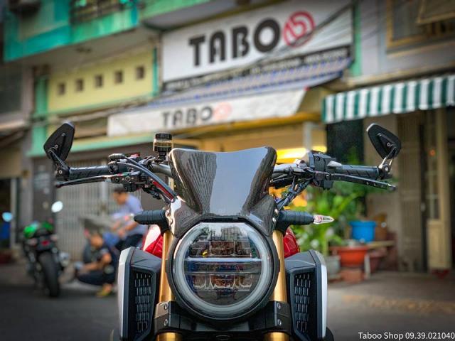 Honda CB650R do nhe theo phong cach chay pho cua Biker Viet - 4