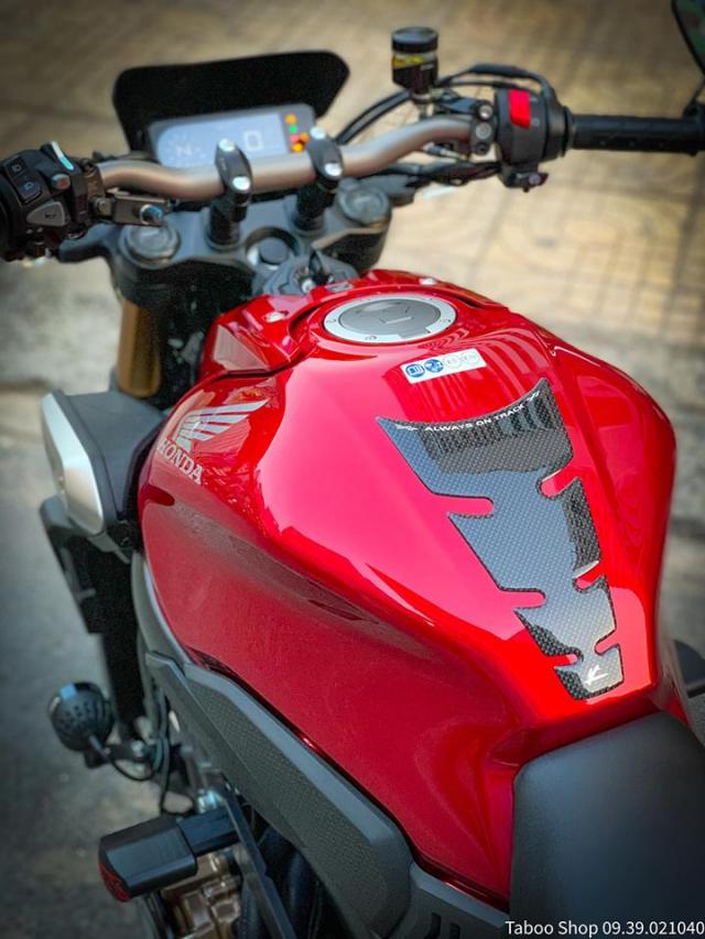 Honda CB650R do nhe theo phong cach chay pho cua Biker Viet - 6