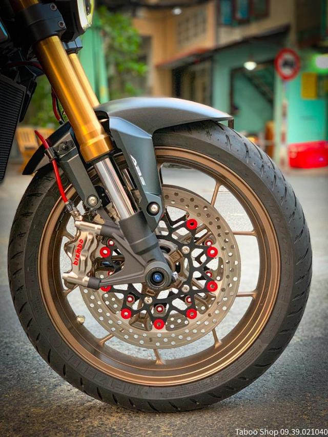 Honda CB650R do nhe theo phong cach chay pho cua Biker Viet - 8