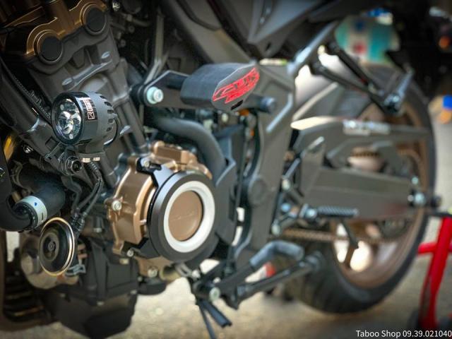 Honda CB650R do nhe theo phong cach chay pho cua Biker Viet - 12