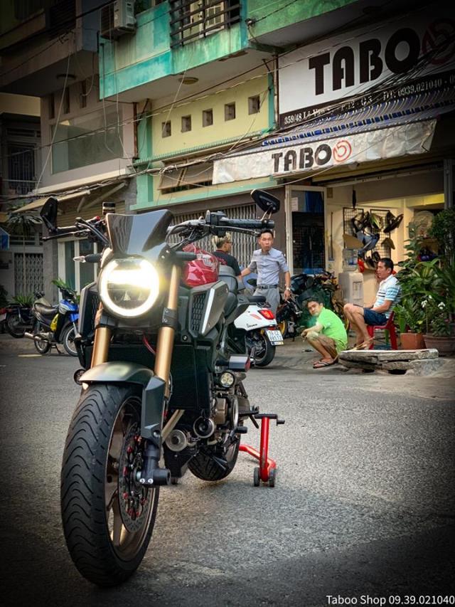 Honda CB650R do nhe theo phong cach chay pho cua Biker Viet - 14
