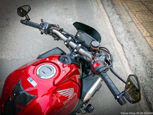 Honda CB650R do nhe theo phong cach chay pho cua Biker Viet - 16