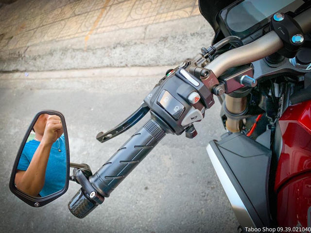 Honda CB650R do nhe theo phong cach chay pho cua Biker Viet - 18