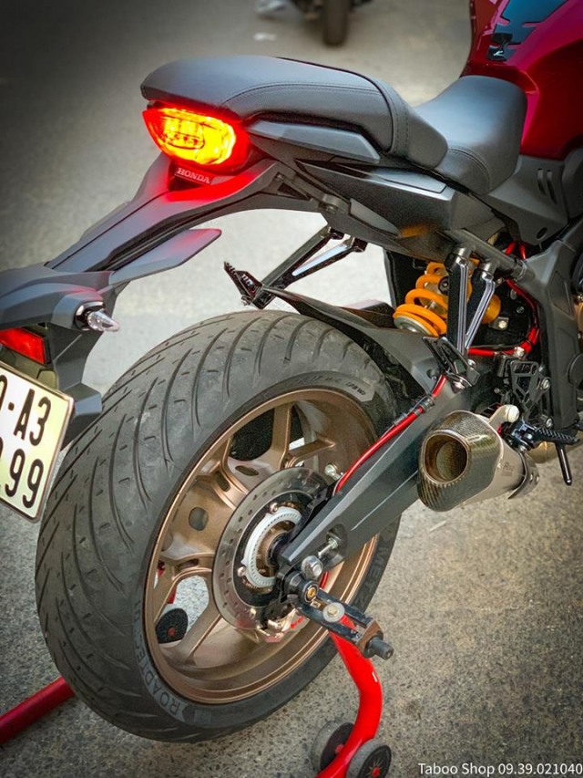 Honda CB650R do nhe theo phong cach chay pho cua Biker Viet - 20