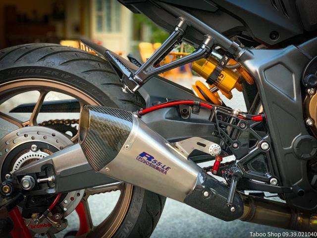 Honda CB650R do nhe theo phong cach chay pho cua Biker Viet - 26