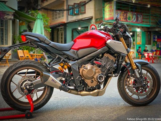 Honda CB650R do nhe theo phong cach chay pho cua Biker Viet - 28