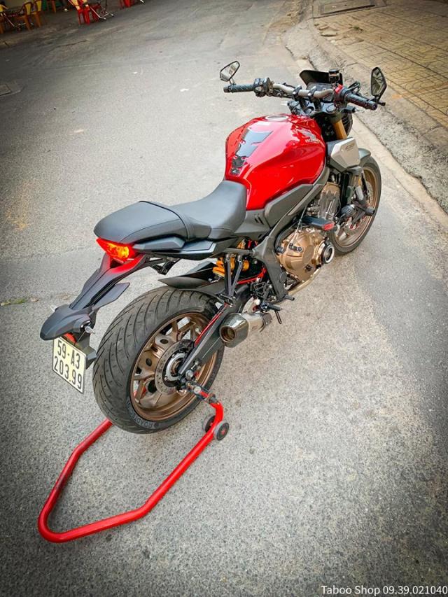 Honda CB650R do nhe theo phong cach chay pho cua Biker Viet - 30