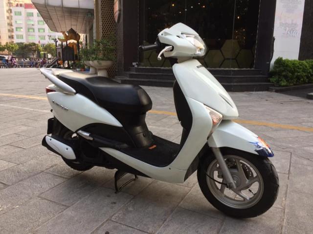 Honda Lead Fi mau trang bien Ha noi nguyen ban - 4
